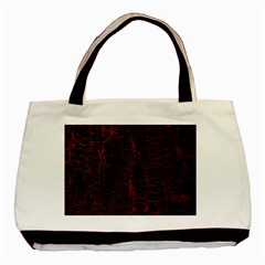 Black And Red Background Basic Tote Bag by Amaryn4rt