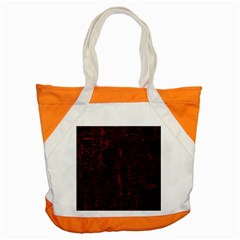 Black And Red Background Accent Tote Bag by Amaryn4rt