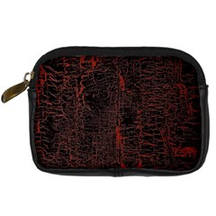 Black And Red Background Digital Camera Cases by Amaryn4rt