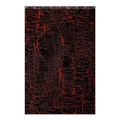 Black And Red Background Shower Curtain 48  X 72  (small)  by Amaryn4rt
