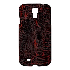Black And Red Background Samsung Galaxy S4 I9500/i9505 Hardshell Case by Amaryn4rt