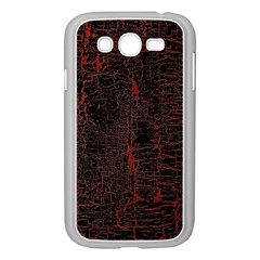 Black And Red Background Samsung Galaxy Grand Duos I9082 Case (white) by Amaryn4rt