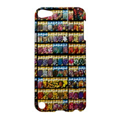 Flower Seeds For Sale At Garden Center Pattern Apple Ipod Touch 5 Hardshell Case by Amaryn4rt