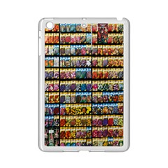 Flower Seeds For Sale At Garden Center Pattern Ipad Mini 2 Enamel Coated Cases by Amaryn4rt