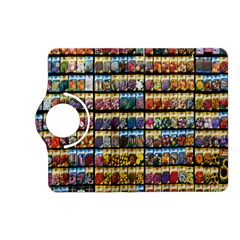 Flower Seeds For Sale At Garden Center Pattern Kindle Fire Hd (2013) Flip 360 Case by Amaryn4rt