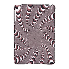 Digital Fractal Pattern Apple Ipad Mini Hardshell Case (compatible With Smart Cover) by Amaryn4rt