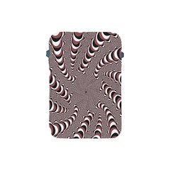Digital Fractal Pattern Apple Ipad Mini Protective Soft Cases by Amaryn4rt
