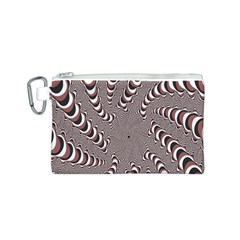 Digital Fractal Pattern Canvas Cosmetic Bag (s) by Amaryn4rt