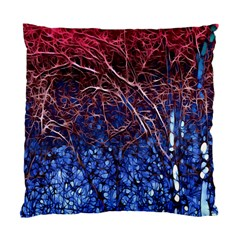 Autumn Fractal Forest Background Standard Cushion Case (one Side) by Amaryn4rt