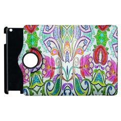 Wallpaper Created From Coloring Book Apple Ipad 2 Flip 360 Case by Amaryn4rt