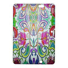 Wallpaper Created From Coloring Book Kindle Fire Hdx 8 9  Hardshell Case by Amaryn4rt