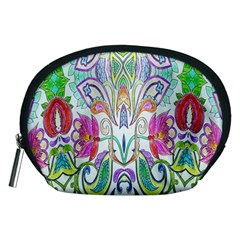 Wallpaper Created From Coloring Book Accessory Pouches (medium)