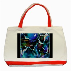 Water Is The Future Classic Tote Bag (red) by Amaryn4rt