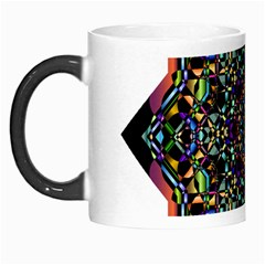 Mandala Abstract Geometric Art Morph Mugs by Amaryn4rt