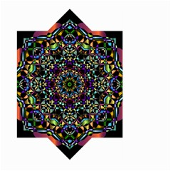 Mandala Abstract Geometric Art Large Garden Flag (two Sides) by Amaryn4rt
