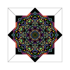 Mandala Abstract Geometric Art Acrylic Tangram Puzzle (6  X 6 ) by Amaryn4rt