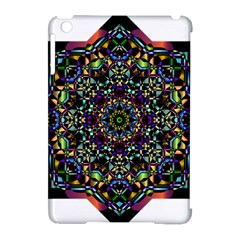 Mandala Abstract Geometric Art Apple Ipad Mini Hardshell Case (compatible With Smart Cover) by Amaryn4rt