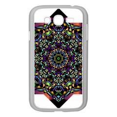 Mandala Abstract Geometric Art Samsung Galaxy Grand Duos I9082 Case (white) by Amaryn4rt