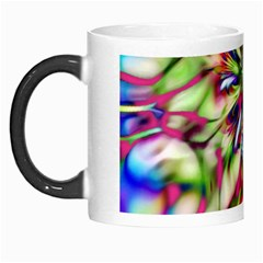 Magic Fractal Flower Multicolored Morph Mugs by EDDArt