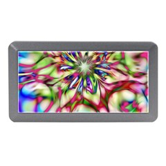 Magic Fractal Flower Multicolored Memory Card Reader (mini) by EDDArt