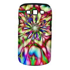 Magic Fractal Flower Multicolored Samsung Galaxy S Iii Classic Hardshell Case (pc+silicone) by EDDArt