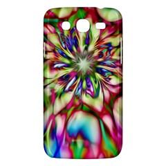 Magic Fractal Flower Multicolored Samsung Galaxy Mega 5 8 I9152 Hardshell Case  by EDDArt