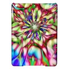 Magic Fractal Flower Multicolored Ipad Air Hardshell Cases by EDDArt