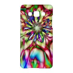 Magic Fractal Flower Multicolored Samsung Galaxy A5 Hardshell Case  by EDDArt