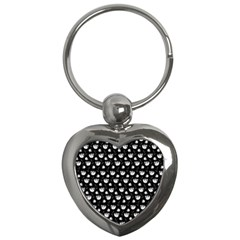 Floral Pattern Key Chains (heart)  by Valentinaart