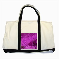 Purple Background Scrapbooking Paper Two Tone Tote Bag by Amaryn4rt