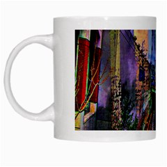 Downtown Chicago White Mugs by Amaryn4rt