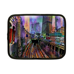Downtown Chicago Netbook Case (small)  by Amaryn4rt