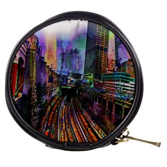 Downtown Chicago Mini Makeup Bags by Amaryn4rt