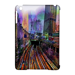 Downtown Chicago Apple Ipad Mini Hardshell Case (compatible With Smart Cover) by Amaryn4rt