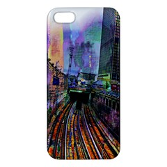 Downtown Chicago Iphone 5s/ Se Premium Hardshell Case by Amaryn4rt