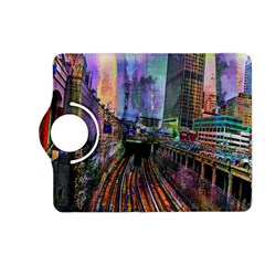 Downtown Chicago Kindle Fire Hd (2013) Flip 360 Case by Amaryn4rt