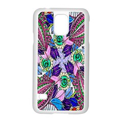 Wallpaper Created From Coloring Book Samsung Galaxy S5 Case (white) by Amaryn4rt