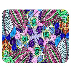 Wallpaper Created From Coloring Book Double Sided Flano Blanket (medium)  by Amaryn4rt