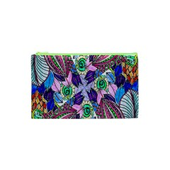 Wallpaper Created From Coloring Book Cosmetic Bag (xs) by Amaryn4rt