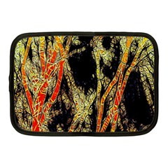 Artistic Effect Fractal Forest Background Netbook Case (medium)  by Amaryn4rt
