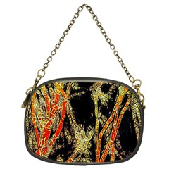 Artistic Effect Fractal Forest Background Chain Purses (one Side)  by Amaryn4rt