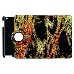 Artistic Effect Fractal Forest Background Apple Ipad 3/4 Flip 360 Case by Amaryn4rt