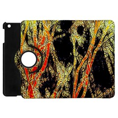 Artistic Effect Fractal Forest Background Apple Ipad Mini Flip 360 Case by Amaryn4rt