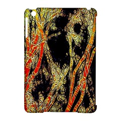 Artistic Effect Fractal Forest Background Apple Ipad Mini Hardshell Case (compatible With Smart Cover) by Amaryn4rt