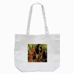 Artistic Effect Fractal Forest Background Tote Bag (white) by Amaryn4rt