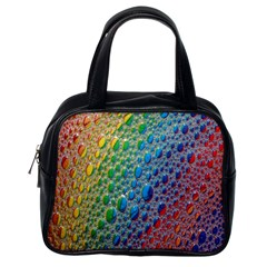 Bubbles Rainbow Colourful Colors Classic Handbags (one Side) by Amaryn4rt