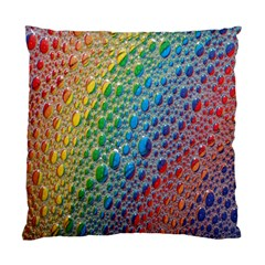Bubbles Rainbow Colourful Colors Standard Cushion Case (two Sides) by Amaryn4rt