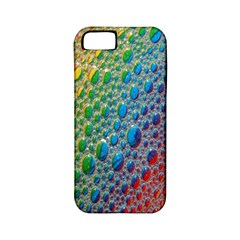 Bubbles Rainbow Colourful Colors Apple Iphone 5 Classic Hardshell Case (pc+silicone) by Amaryn4rt