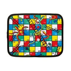 Snakes And Ladders Netbook Case (small)  by Amaryn4rt