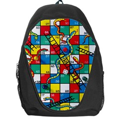 Snakes And Ladders Backpack Bag by Amaryn4rt